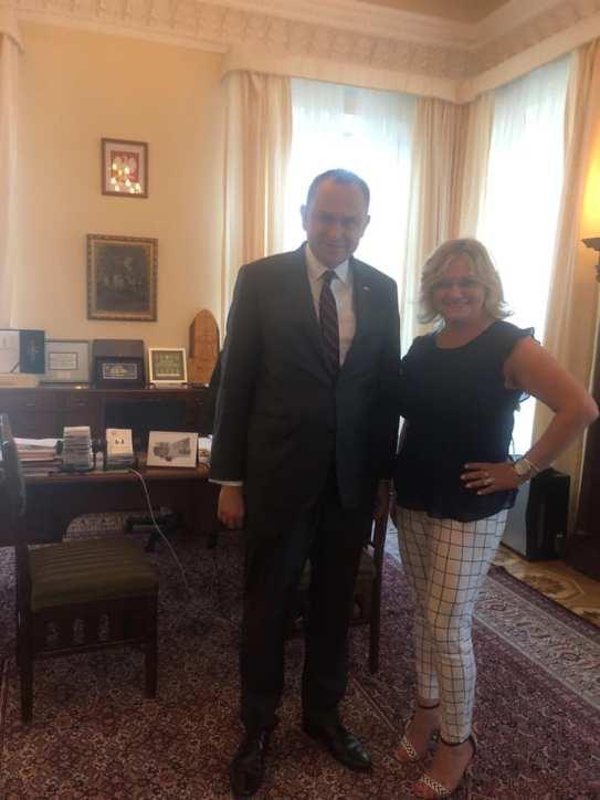 Na zakończenie pobytu z okazji obchodów stulecia Związku Podhalan spotkanie z Panem Ministrem Adam Kwiatkowski w Pałacu Prezydenckim.